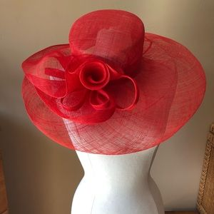 Kakyco Sinamay Hat (Red)